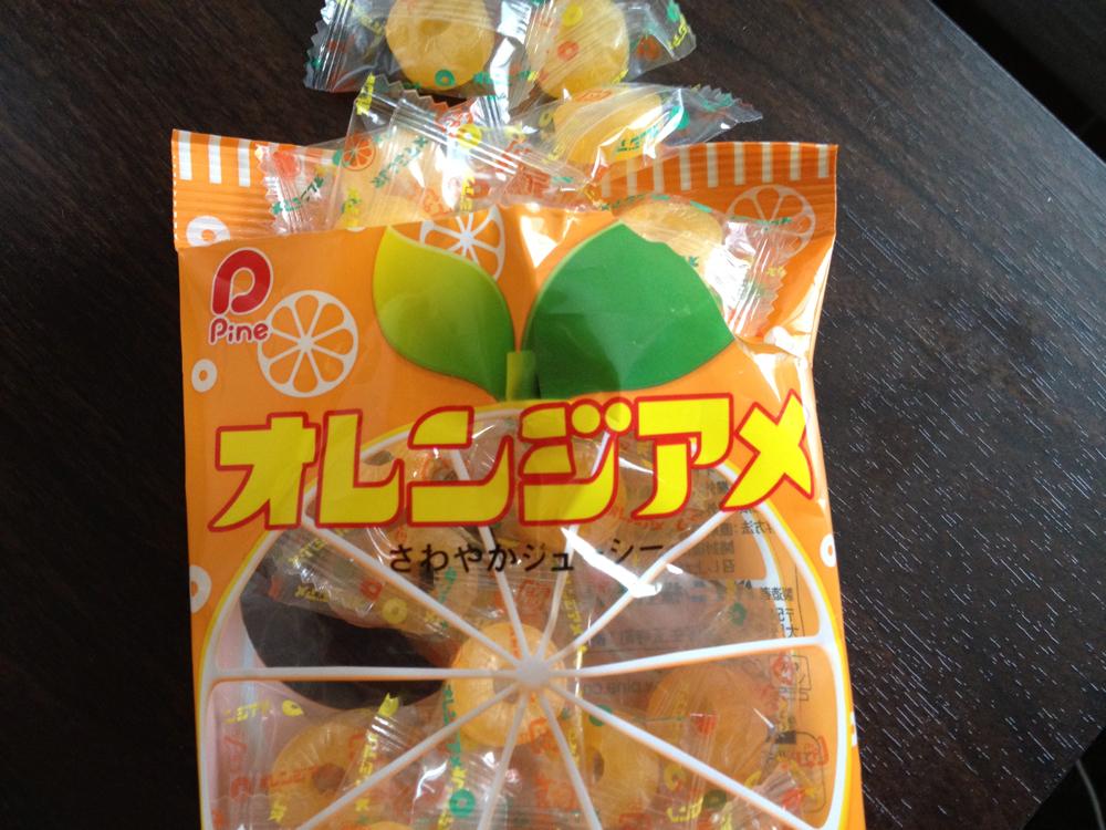 [αź]「パインアメ」の会社が作った「オレンジアメ」はやっぱり間違いなかった!